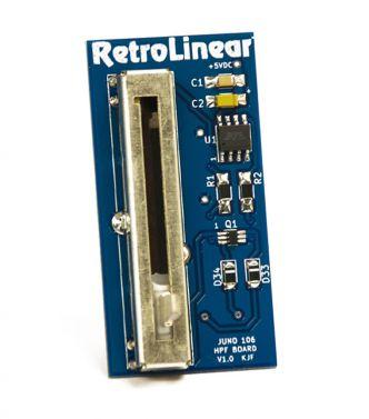 Roland JUNO 106 High Pass Filter Slider Switch